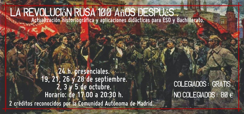 La Revolución Rusa 100 años despues