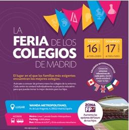 V edición feria de los colegios de Madrid