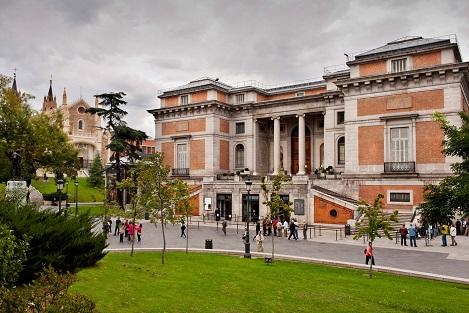 Museo del Prado, fachada de Goya