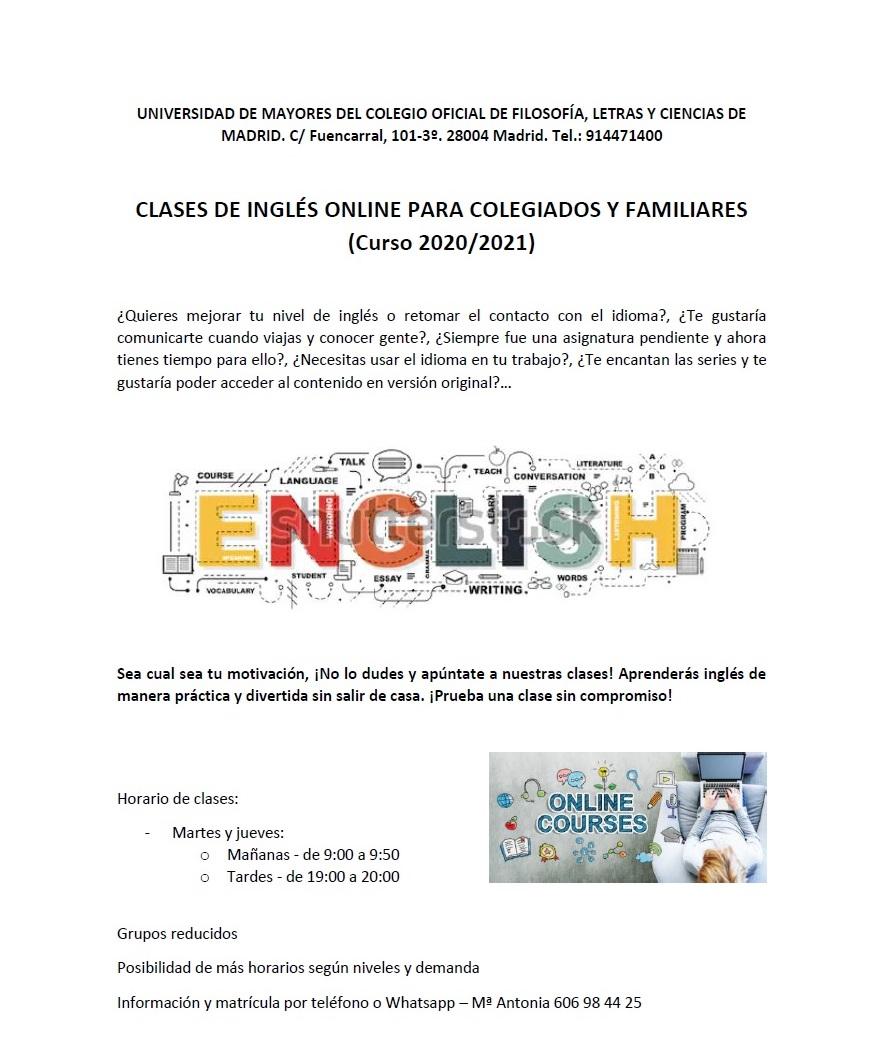 cursos online inglés