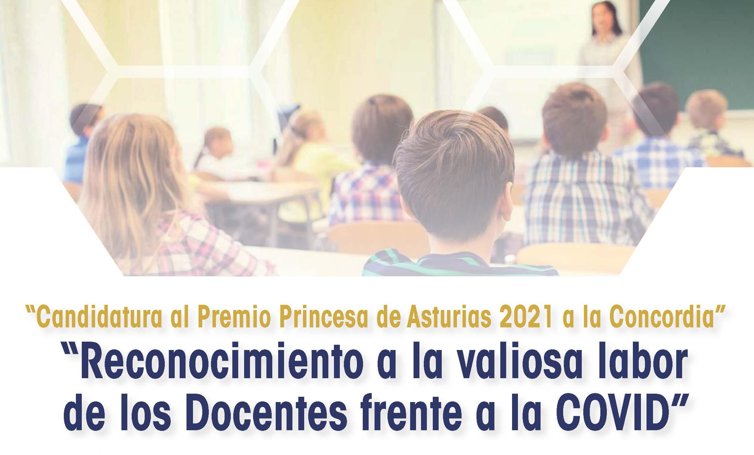 Los Docentes candidatos al Premio Princesa de Asturias
