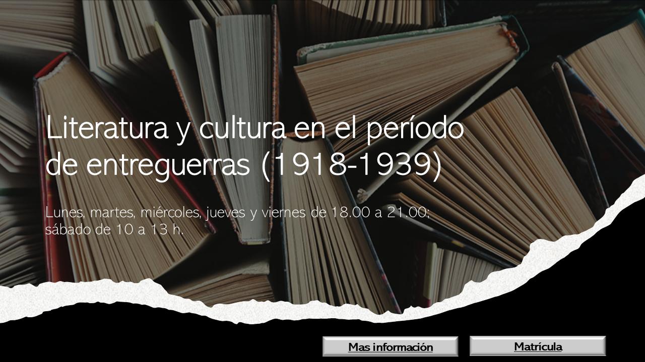 literatura-entreguerras